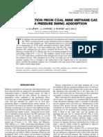 Separacion de Metano Del Carbon i