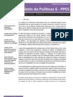 Boletin 6 PPES.rankings