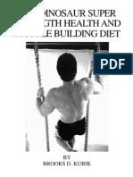 Brooks Kubik - Dinosaur Diet