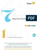 Seven Sales Force Development Trends