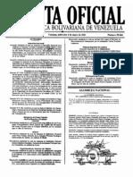 Gaceta Oficial 39666 Reforma Ley Alimentacion