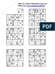 Grilles Sudoku Diabolique Page No1