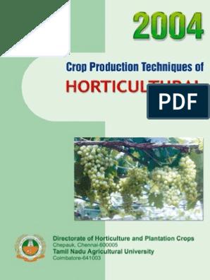 Horticulture | Fertilizer | Vegetables