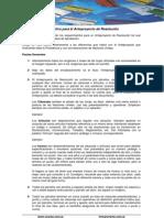 Instructivo Para El Anteproyecto de Resolucion (2)