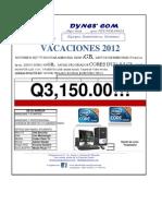COTIZACION DYNES 3150
