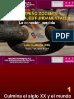 DESEMPEÑO DOCENTE y aprendizajes (LGO2010)