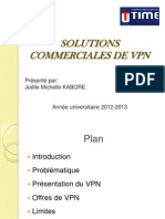 Solutions Commerciales de VPN