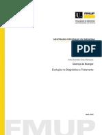 Doena de Buerger Evoluo No Diagnstico e Tratamento