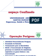 ESPAÇO CONFINADO  -  apresentação PowerPoint