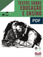 Marx Engels Educacao Ensino Navegando eBook
