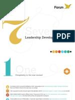 Seven Trends in Leadership Development