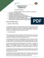 Codigos de Etica(Informe)