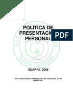 5.POLITICADEPRESENTACIONPERSONAL