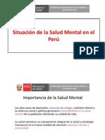 1. Situación de la Salud Mental en el Perú