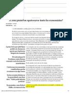 ¿Cómo pudieron equivocarse tanto los economistas_ _ Edición impresa _ EL PAÍS