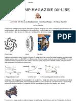 Focus on Fundamental Centrifugal Pump Overhung Impellar