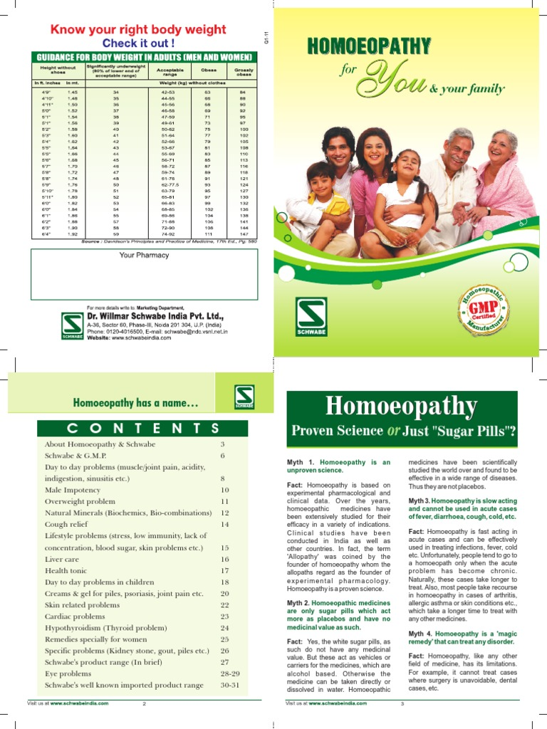 Schwabes Homeopathy 16p | Homeopathy | Placebo