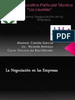Centros Negociacion en Lal Empresa