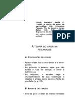 F004t Ferreira, A teoria do amor na psicanálise, f. de l.