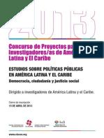 Convocatoria Becas CLACSO-Asdi Politicas 368