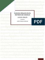 Juicios Orales en El Estado de Oaxaca