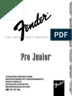 Pro Junior Manual