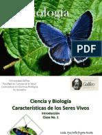 Biologia Caracteristicas de Los Seres Vivos