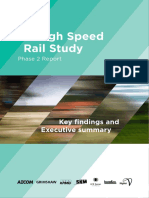 High Speed Rail Report