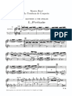 Maurice Ravel Le Tombeau de Couperin 1er Oboe