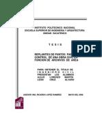 Replanteo de Puntos Para El Control de Una Obra Civil en Funcion de Archivos de Area IPN