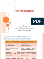 Adhoc Networks(UNIT III)