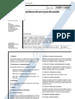 Abnt - Nbr 12808 - Resíduos de Serviços de Saúde - Classificação