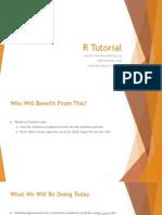 R Tutorial Slides