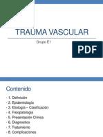 Trauma Vascular - Grupo E1