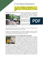 Ajuterique y Su Falla Geologica