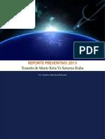 Reporte Preventivo Abril Mayo 2013