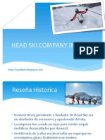 Head Ski Company Inc