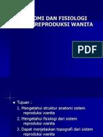 Dr. Puspa Anatomi Dan Fisiologi Sistem Reproduksi Wanita