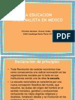La Educacion Racionalista en Mexico