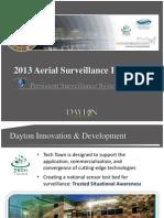 Dayton, Ohio 2013 Aerial Surveillance Project