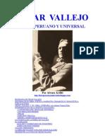 Cesar Vallejo - Biografia y Obra Literaria