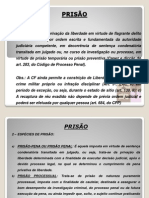 Prisao - Parte i - Direito Processual Penal II