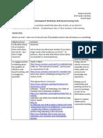 professional development proposal