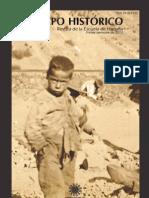 Tiempo Histórico. Revista de la Escuela de Historia, n.4 (Santiago de Chile, 2012) / Tabla de Contenidos