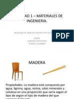 ACTIVIDAD 1 – MATERIALES DE INGENIERIA