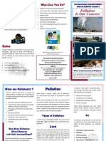 Pollution - Brochure