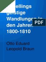 Schellings geistige Wandlungen 1800_1801