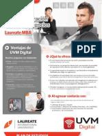 Maestría Digital en Administración Global de Negocios Laureate MBA