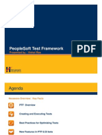 Hexaware PeopleSoft Test Framework June2012