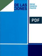 De Las Obligaciones - Rene Ramos P.